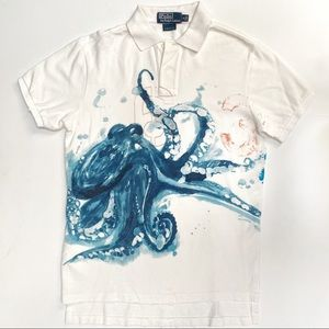 Polo by Ralph Lauren Octopus Polo, S, NWOT